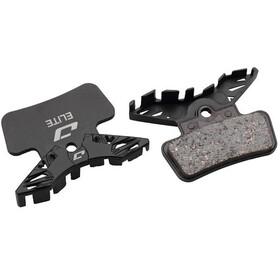 Jagwire Elite Semi-Metallic Skivebremsebelægninger SRAM G2 Ultimate/G2 RSC/GuideUltimate/RSC/RS/R, black